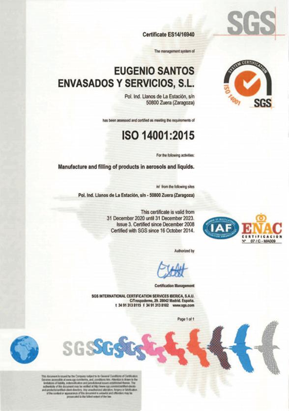 ISO 14001 Englsih