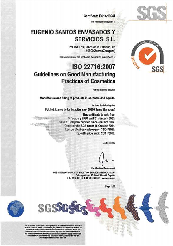 ISO 22716 English