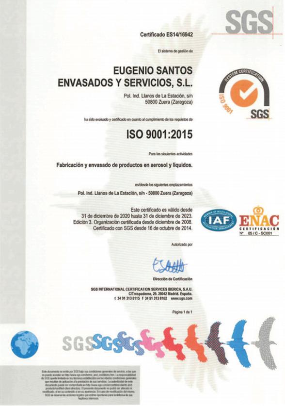 ISO 9001 en Español